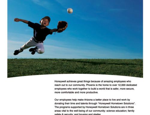 Honeywell Aerospace: Print Ad Campaign